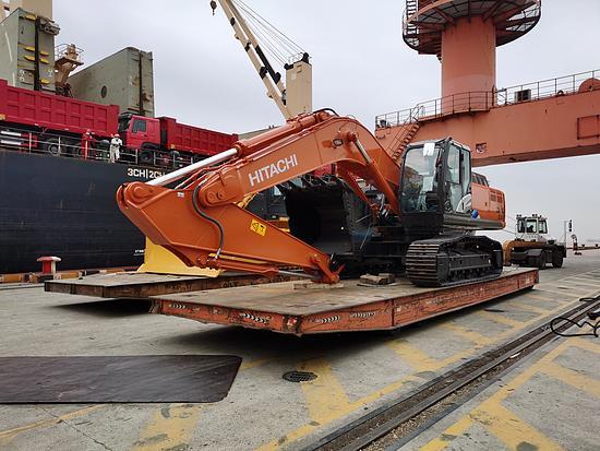 日立建機液壓挖掘機交付海外 持續發力一帶一路建設