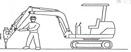 山推挖掘機:破碎錘的正確打開方式,你知道嗎?