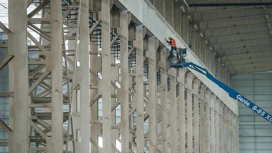 上海裝備制造又傳佳音,臨港大型挖掘機結構件生產基地建成