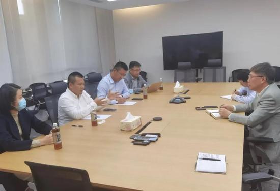 廣東東升實業集團領導一行到訪小松中國