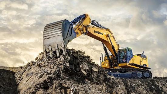 柳工发布新款995F—— 大型挖掘机的新标杆