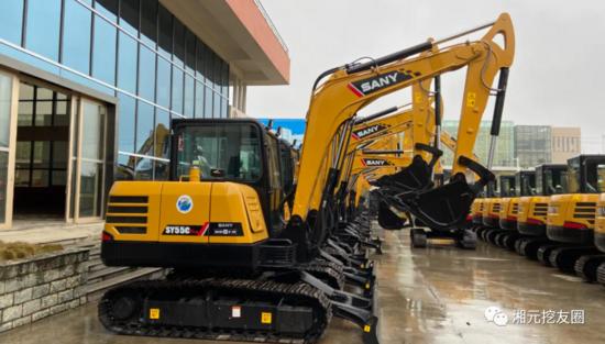 年銷近萬臺,國內最暢銷的挖掘機,三一SY55C Pro,非他莫屬!