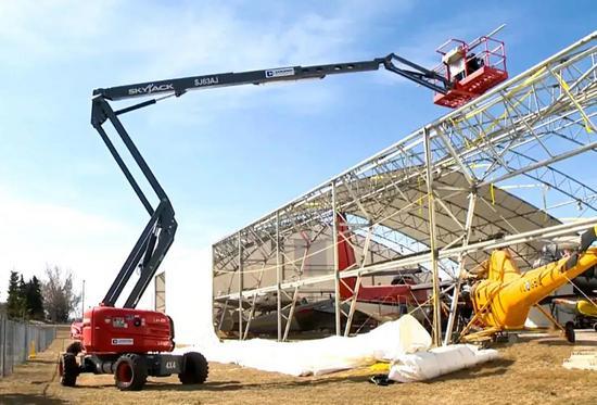 SKYJACK助力寒冬后的修复重建工作