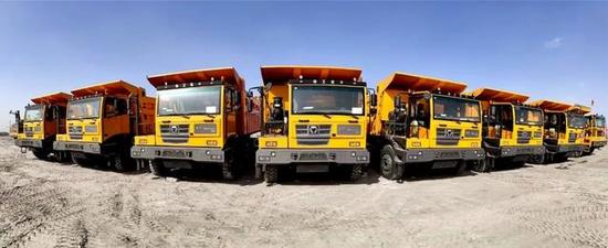 獲用戶口碑相傳 徐工礦用自卸車再簽內蒙古批量訂單