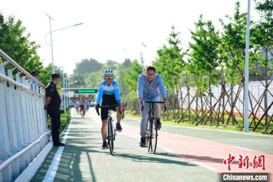 北京將建設二環慢行系統 開展高速路輔路慢行廊道綜合整治提升工程