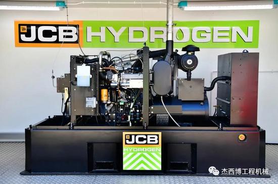 重磅:JCB推出氫燃料發動機技術
