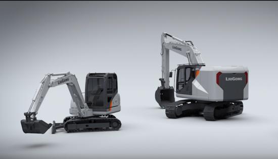 柳工挖掘機:充電一小時,工作一整天