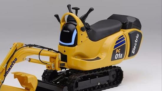 本田將與小松制作所共同研發換電式挖掘機