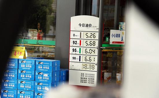 油價最新情況,今天6月21日,全國油站92號、95號、98汽油價格