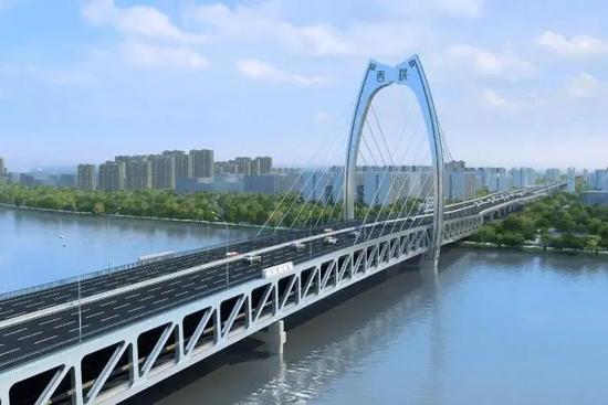 靈活又精準!三一起重機參建寧波西洪大橋