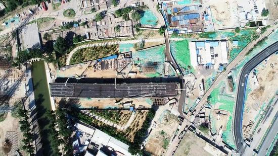 四臺雷薩國六泵車齊助力北京石景山區建設,泵車老司機直呼給力!