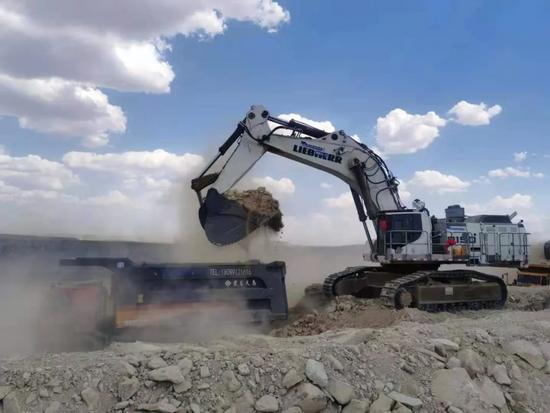 深耕不輟,持續精進—卡納磨拓再次出手150噸礦用挖掘機