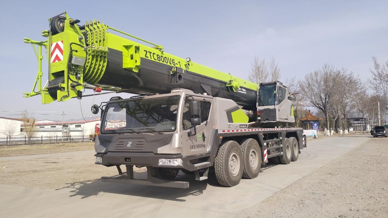 新車發布丨80噸高性能產品ZTC800V663-1 性能強勁立巔峰 噸位地位賽林沖