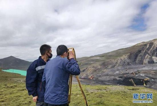 【突發】青海柴達爾煤礦事故救援現場已展開打鉆作業
