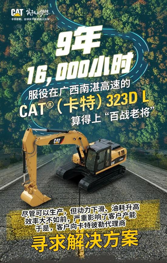 "CAT?(卡特)323D L,歸來仍是""少年""!"
