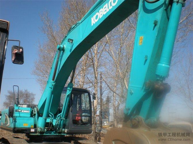 黑龙江个人出售2008年,12月份。神钢350-8挖掘机