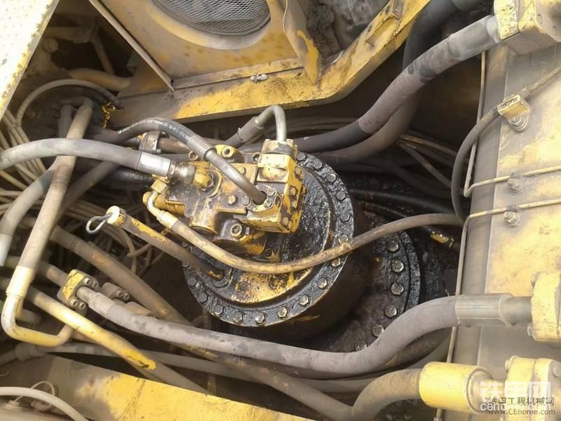 卡特330挖掘機維修,下午開始拆。-帖子圖片