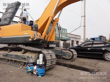 低价转让现代275-9挖掘机