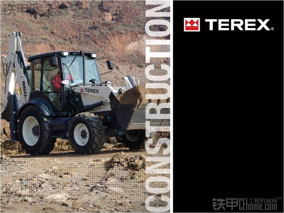 TEREX 挖掘装载机