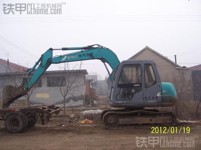 转原装神钢60-6经点小挖车