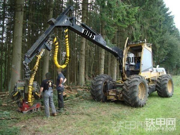 卡特 570 伐木机-帖子图片