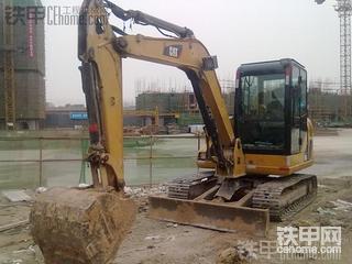 卡特306挖掘机一年多使用报告
