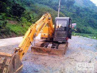 云南第一台柳工908D挖掘机500小时使用报告