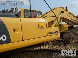 小松PC200-8M0挖掘机伙计老了,辛苦了,有视频哦!!!