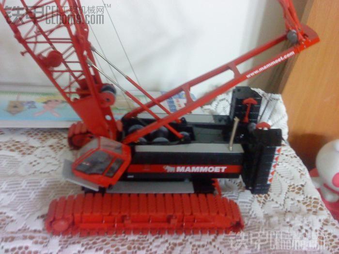 铁甲娱乐 69 视频 模型 游戏 69 利勃海尔lr1280履带桁架式起重机
