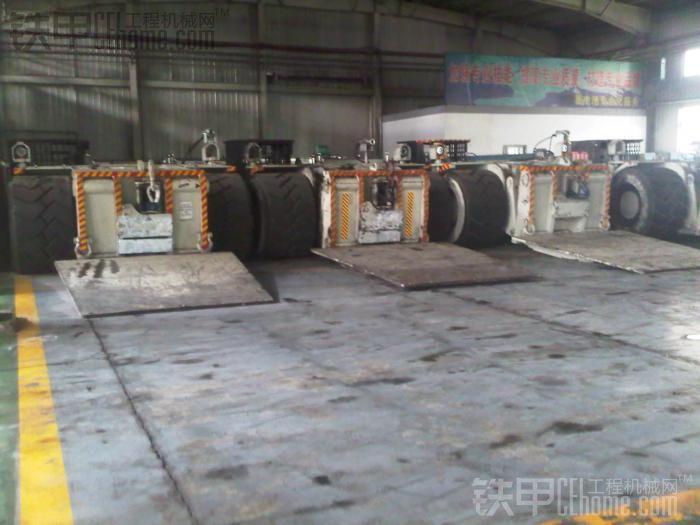 世界上最大的电传动支架搬运车VT680