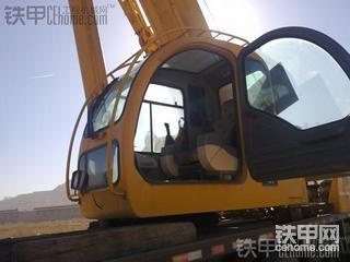 座驾沃尔沃EC360BLC挖掘机维修过程