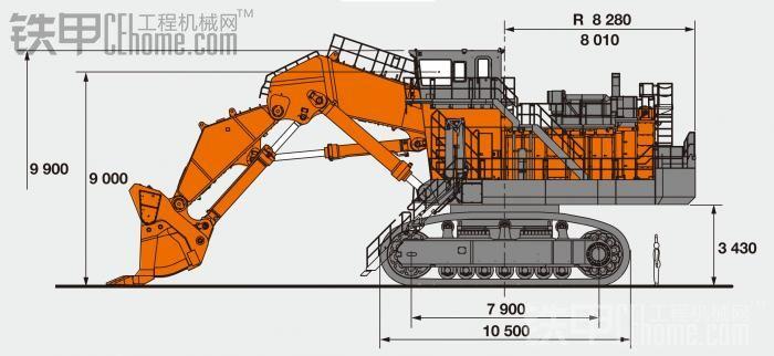 日立ex8000纸模型制作过程