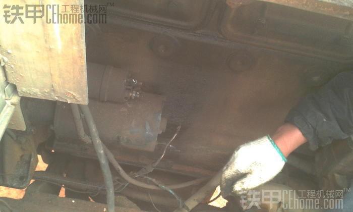 厦工ZL50烂车换启动机