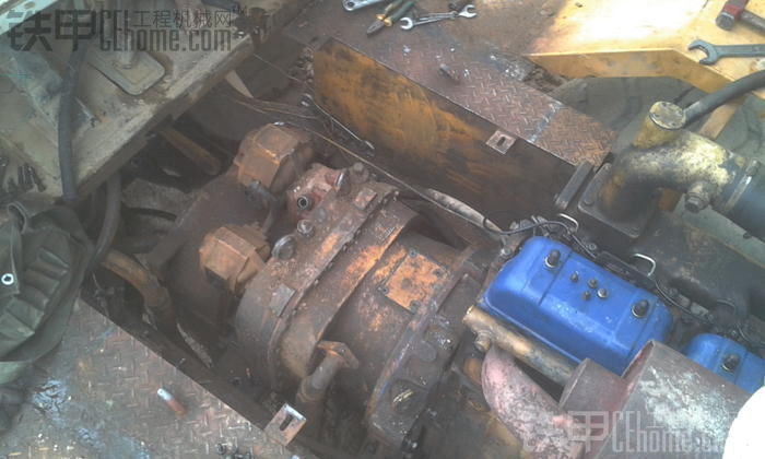 厦工ZL50烂车孪生兄弟大修变速箱