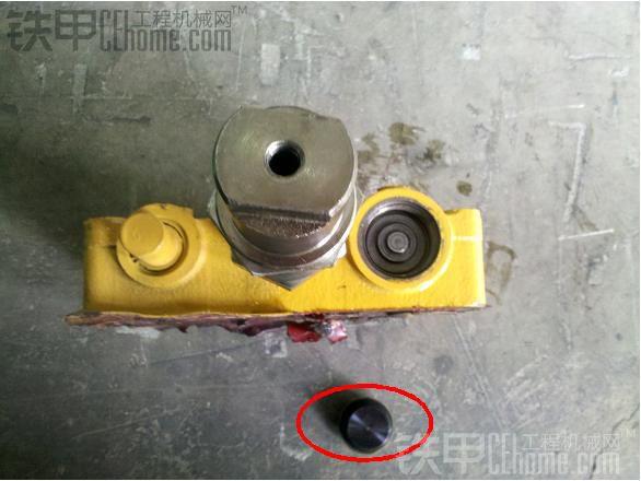 装载机之变速箱换挡阀拆解与分析
