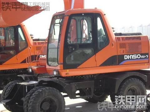 在吉林省干零活 用斗山150轮式挖掘机 能行吗