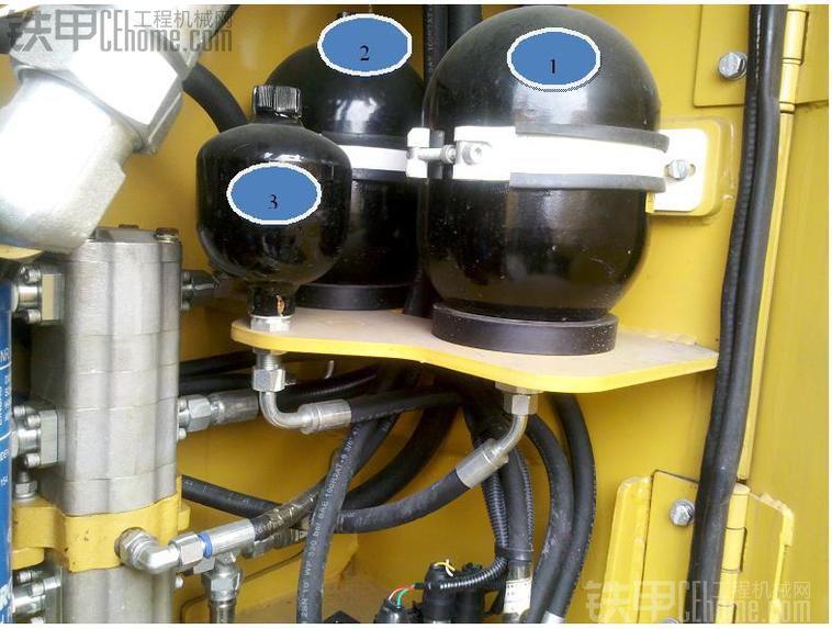 装载机刹车分泵内部结构图