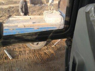 李圆头 挖掘机吊装盖板 之技巧