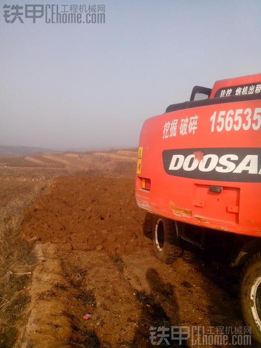 老板刚提斗山150轮挖