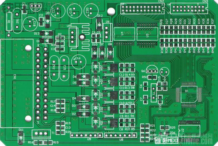 自己设计的斗山空调控制器主控板