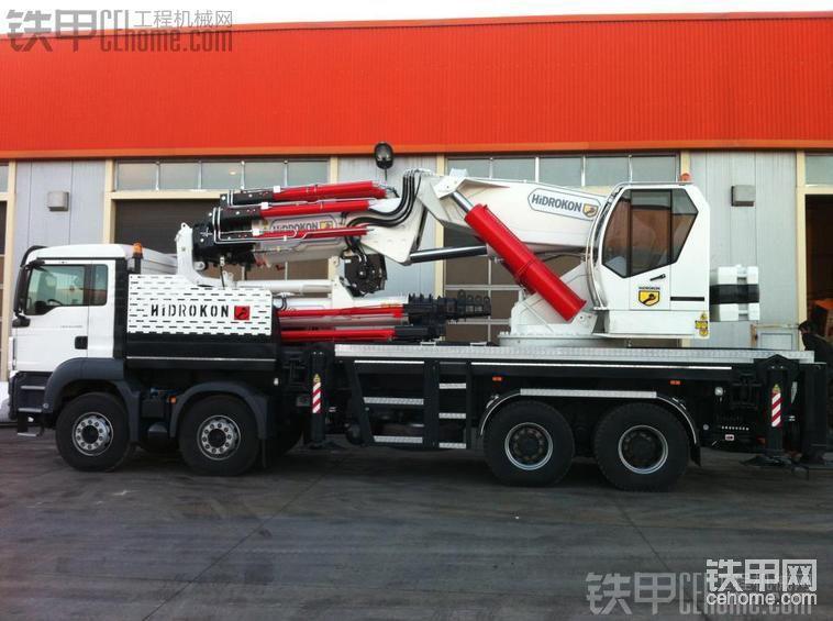 卡车式液压伸縮臂起重机HK-240-帖子图片
