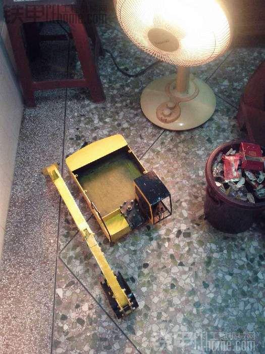 全钢小松PC400掘机模型