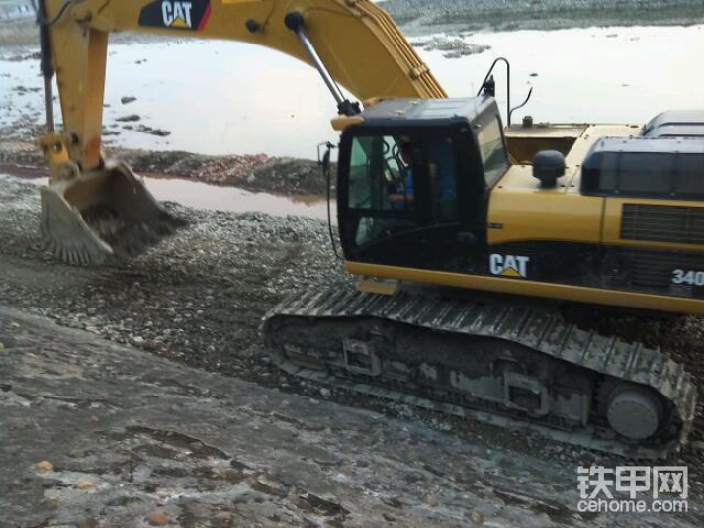 全新卡特340d挖掘機-帖子圖片