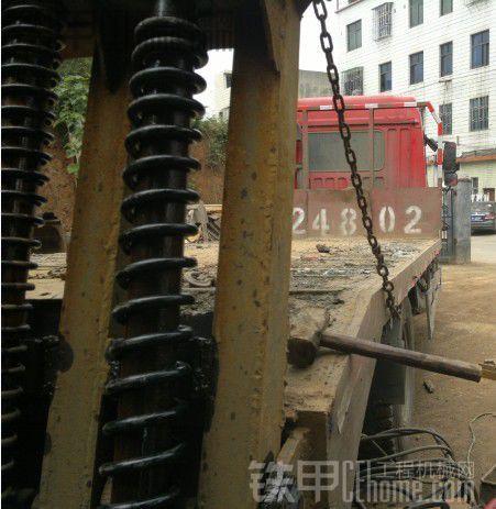 又一台解放单桥平板运输车转让(湖南郴州牌照)