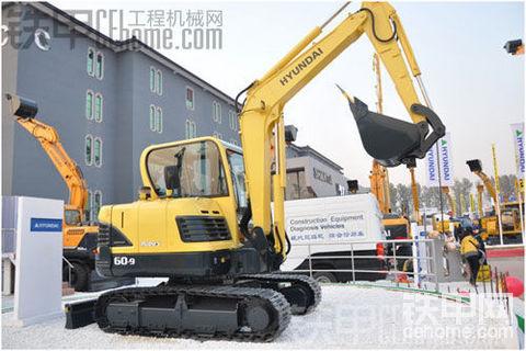 现代R60-9挖掘机自动怠速坏了,怎么修
