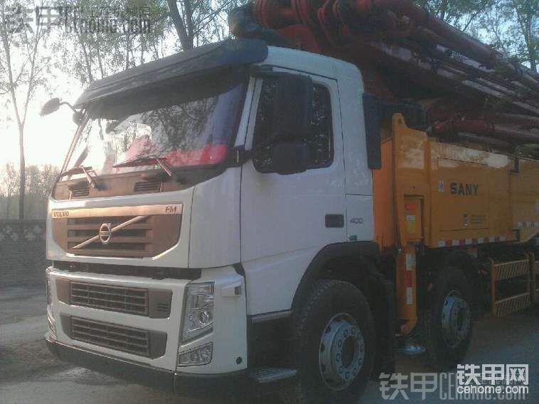 單位新進一臺三一56米泵車。多圖高清無碼-帖子圖片
