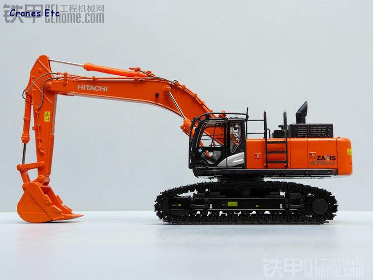 日立470-5挖掘机模型