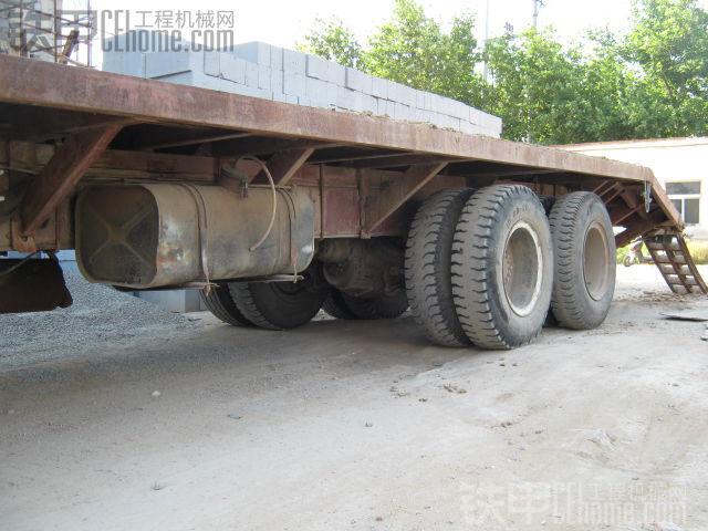 出售十轮自改拖车,无手续