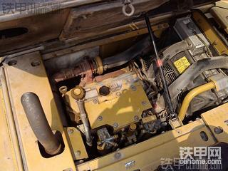 电喷喝油更带劲 原装进口卡特彼勒312D挖掘机1700小时工作近况