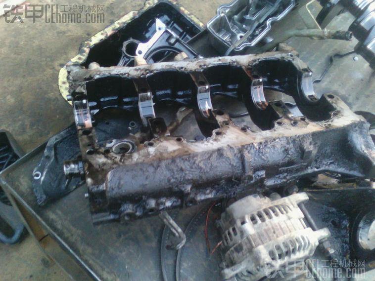 空前来袭:卡特308b4m40发动机大修篇